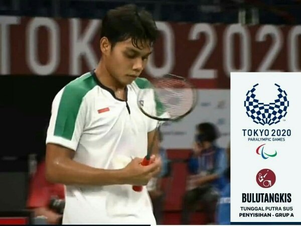 Suryo Nugroho Temani Dheva ke Semifinal Paralimpiade Tokyo 2020