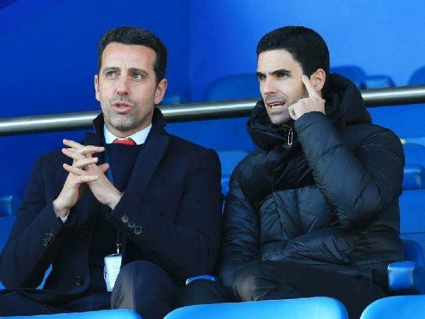 Edu dan Mikel Arteta banyak diawasi penggemar Arsenal