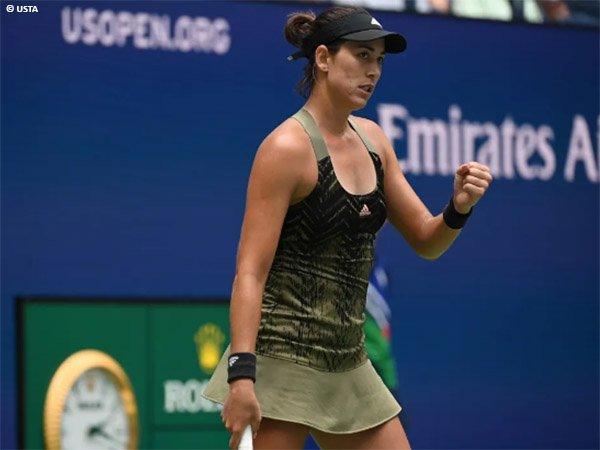 Garbine Muguruza jegal Victoria Azarenka di US Open 2021