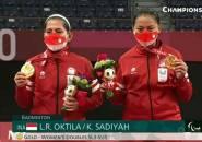 Leani/Sadiyah Rebut Emas Ganda Putri Paralimpiade Tokyo 2020