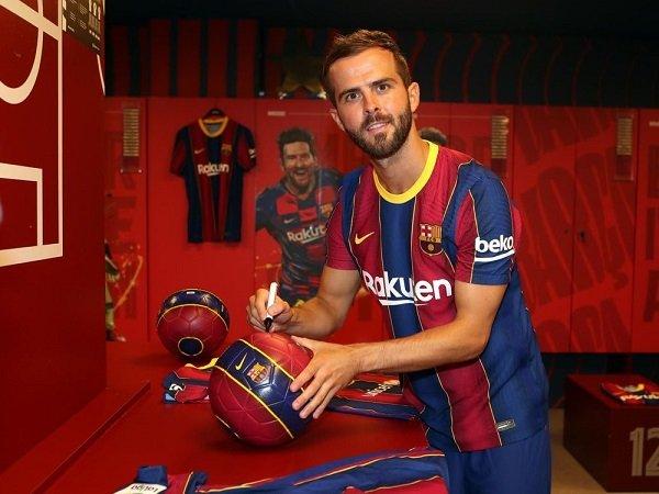 Miralem Pjanic klaim dirinya tak menyesal gabung Barcelona.