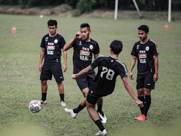 Persipan skuat PSS Sleman jelang hadapi Persija Jakarta