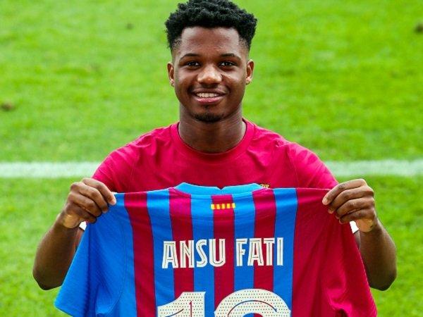 Ansu Fati masuk skuat Barcelona di Liga Champions.