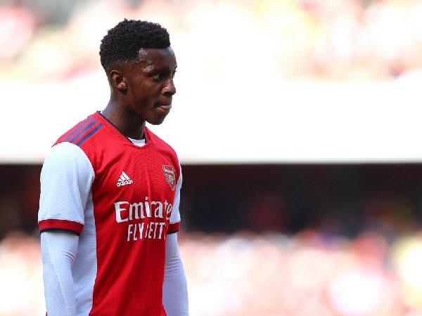 Eddie Nketiah bersiap meninggalkan Arsenal