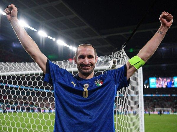 Giorgio Chiellini yakin Italia segera kembali ke trek kemenangan.