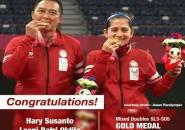 Hary/Leani Persembahkan Emas Kedua Indonesia di Paralimpiade Tokyo 2020