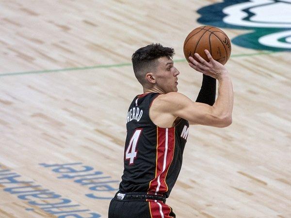 Miami Heat masih yakin Tyler Herro bisa berkembang jadi pemain hebat.