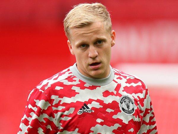 Gelandang Man United, Donny van de Beek.