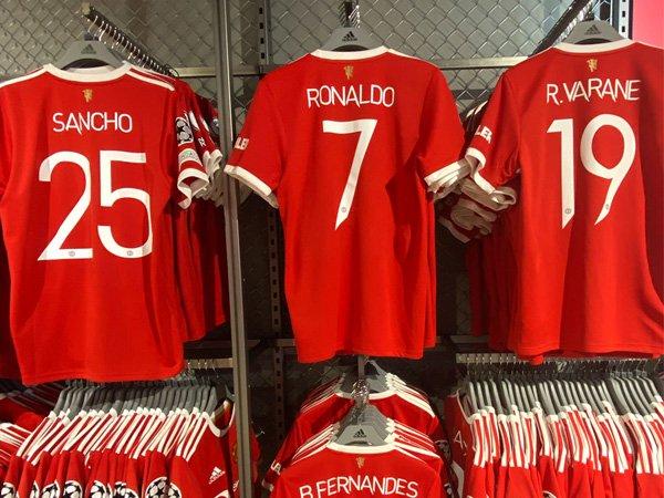 Jersey Cristiano Ronaldo.
