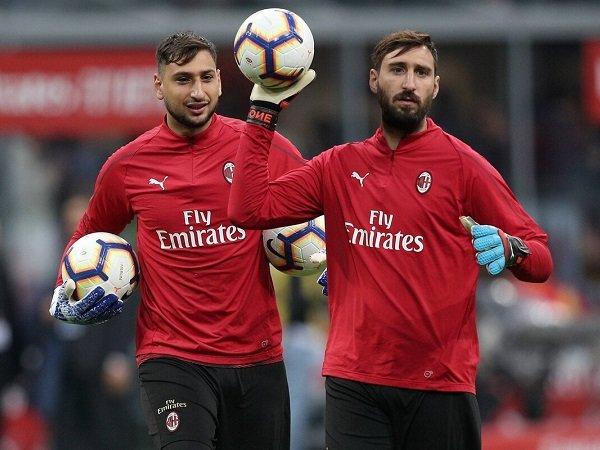 Gianluigi Donnarumma dan Antonio Donnarumma