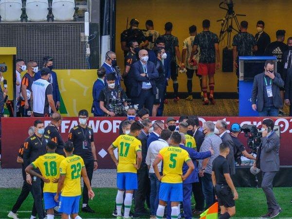 FIFA Beri Pernyataan Soal Laga Brasil vs Argentina