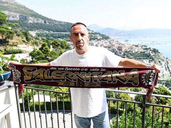 Franck Ribery punya satu tujuan usai gabung Salernitana.