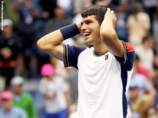 Carlos Alcaraz bukukan satu tiket perempatfinal US Open 2021