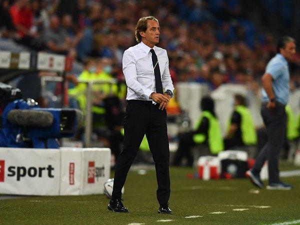 Roberto Mancini keluhkan ketumpulan Italia.