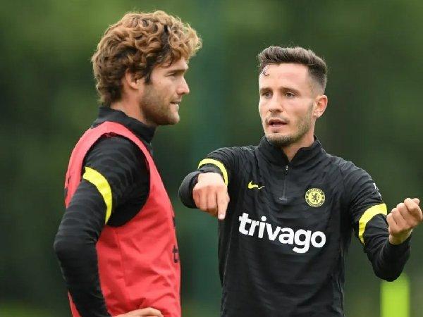 Marcos Alonso yakin Saul Niguez bakal sangat membantu Chelsea raih target klub musim ini.