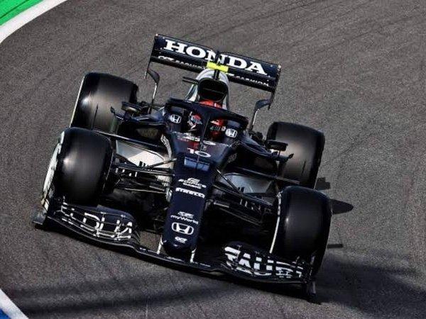 Pierre Gasly sumringah bisa petik hasil manis di GP Belanda.
