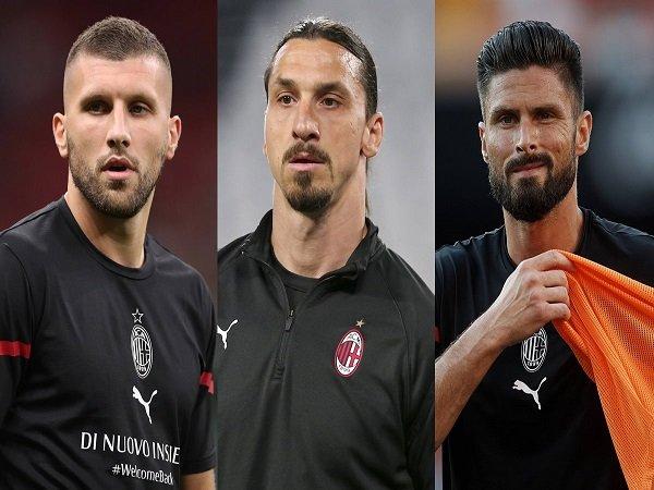 Trio Penyerang AC Milan