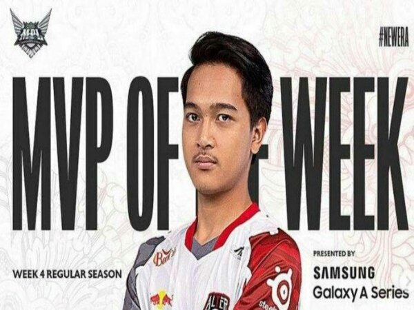 Bermain Gemilang, Nino Alter Ego Raih MVP Week 4 MPL ID Season 8
