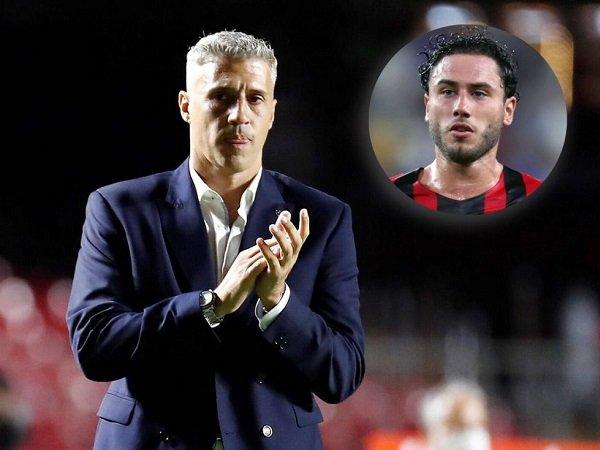 Hernan Crespo dan Davide Calabria