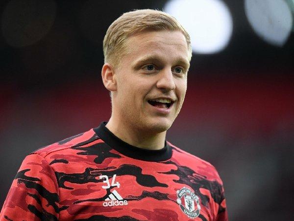 Donny van de Beek bicara tentang posisinya di Manchester United