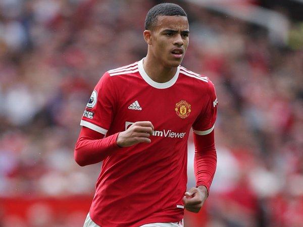 Striker Manchester United, Mason Greenwood.