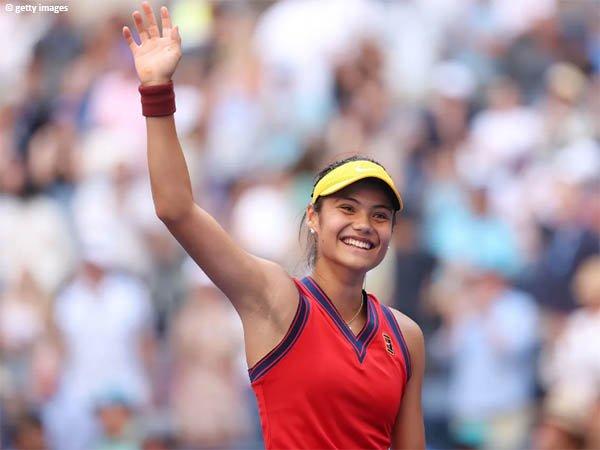 Emma Raducanu meluncur ke perempatfinal US Open 2021
