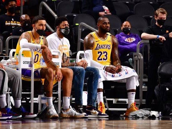 Kyle Kuzma akui masih punya hubungan baik dengan Lakers.