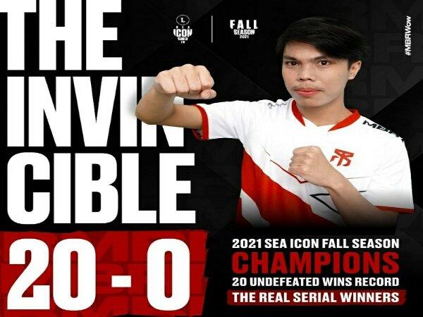 MBR Esports Juara SEA Icon Series Indonesia: Fall Season Tanpa Kekalahan