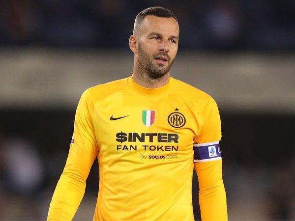 Kiper Inter Milan, Samir Handanovic.