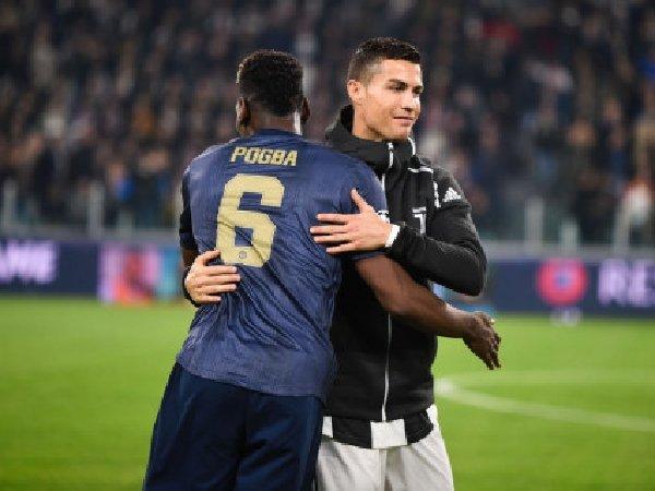Paul Pogba sebut Cristiano Ronaldo bisa naikkan level Manchester United