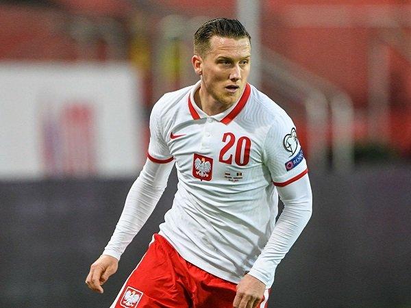 Piotr Zielinski belum kembali saat Polandia jamu Inggris.