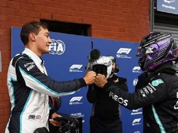George Russell akan menjadi tandem Lewis Hamilton tahun depan. (Images: Getty)