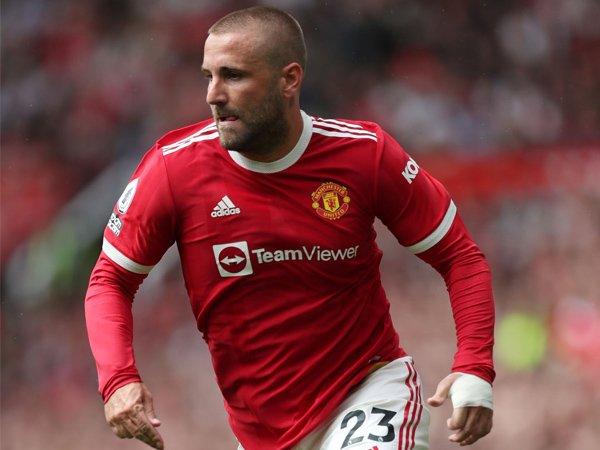 Bek kiri Manchester United, Luke Shaw.
