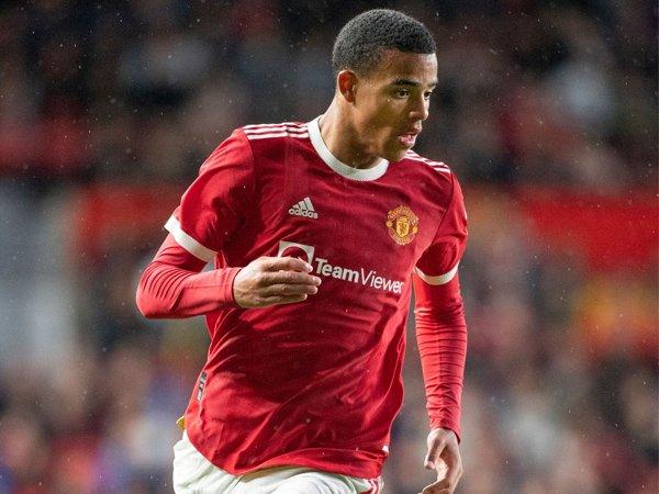 Penyerang Manchester United, Mason Greenwood.