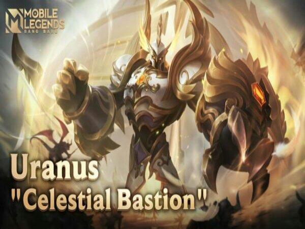 Skin Uranus Calestial Bastion Segera Turun ke Land of Dawn