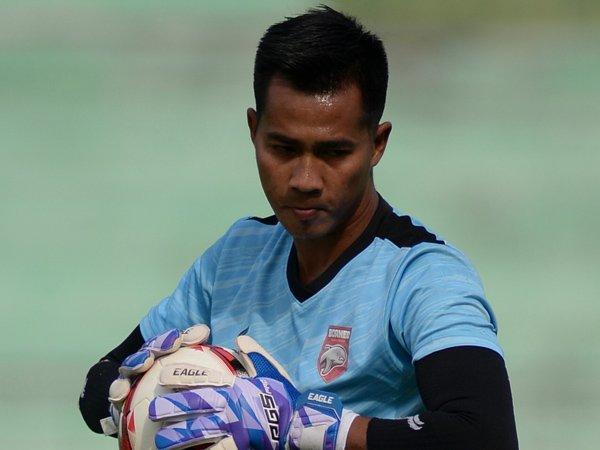 Kiper Borneo FC, Angga Saputra