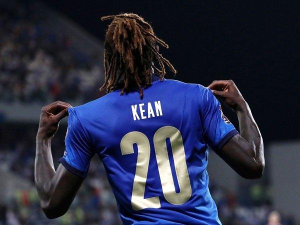 Moise Kean kembali ke timnas Italia dengan tujuan baru.