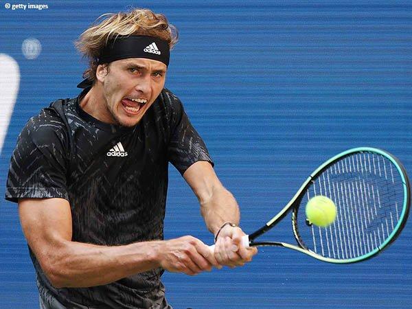 Alexander Zverev tekuk Lloyd Harris demi semifinal US Open 2021