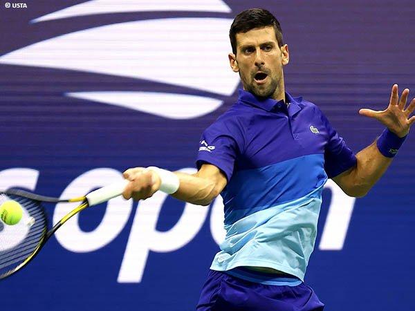 Novak Djokovic tenggelamkan Matteo Berrettini di US Open 2021