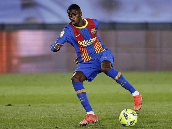 Barcelona inginkan Ousmane Dembele bertahan.