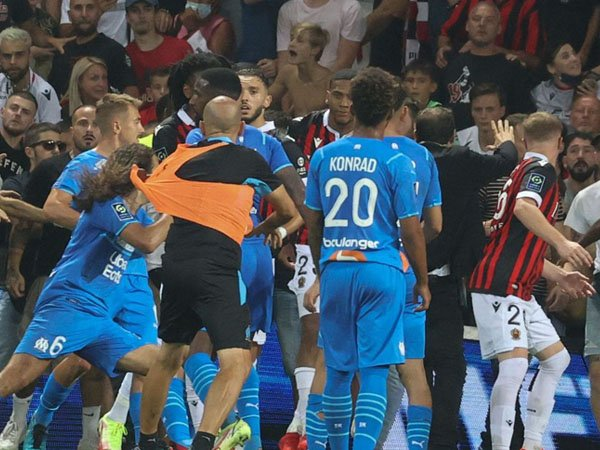 Laga Nice Melawan Marseille
