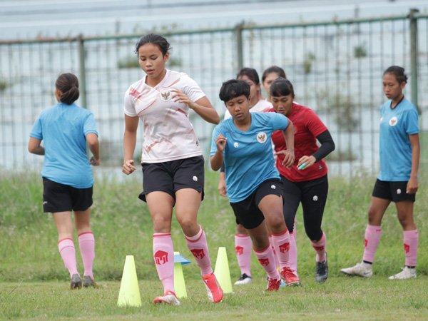 Persiapan timnas wanita Indonesia jelang babak Kualifikasi Piala Asia Wanita 2022