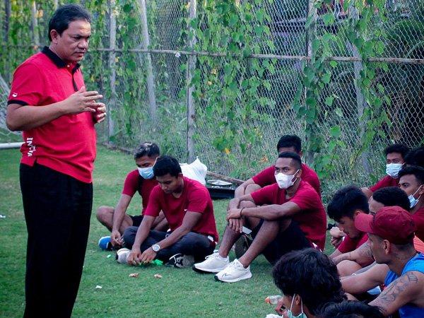 Presiden klub Madura United, Achsanul Qosasi