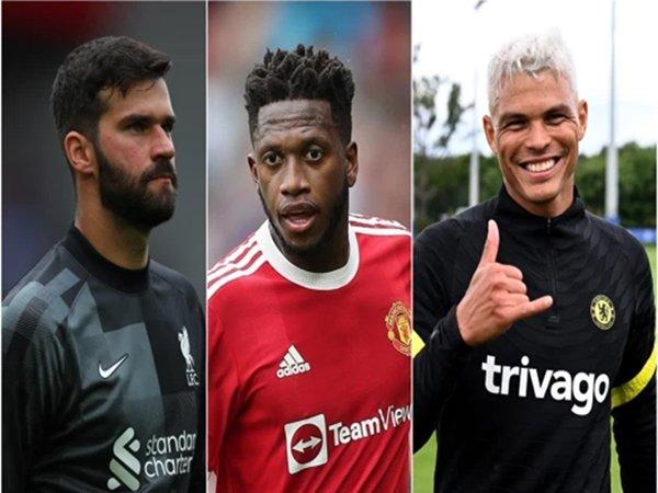Alisson, Fred and Thiago Silva dilarang untuk main di Premier League (Sumber: Getty)
