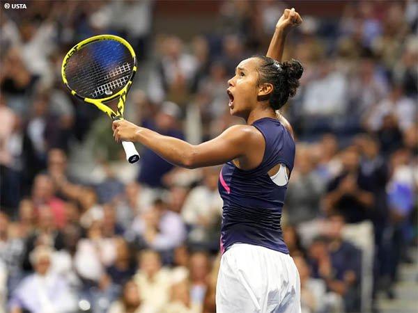 Leylah Annie Fernandez mendarat di final Grand Slam pertama dalam kariernya di US Open 2021