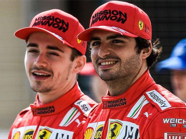 Charles Leclerc dan Carlos Sainz