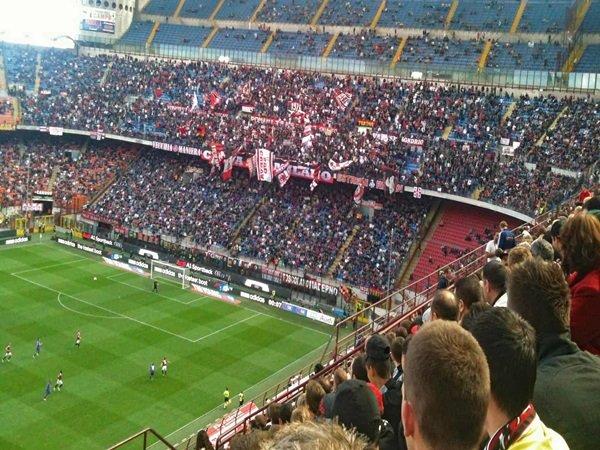 Tiket tandang lazio vs Milan hampir habis terjual