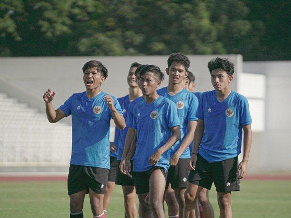 TC timnas Indonesia U-18/foto dok pssi