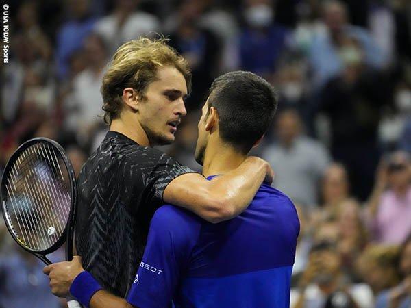 Gagal lumpuhkan Novak Djokovic di US Open, Ini pandangan Alexander Zverev