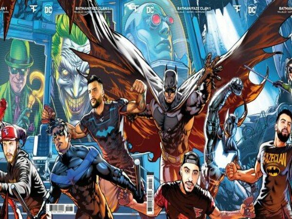 FaZe Clan dan DC Comics Kolaborasi Luncurkan Komik Edisi Terbatas
